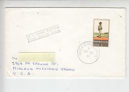 IRLANDA  1971 - Unificato  271 - Yeats - Arte - Pittura - FDC