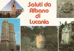 12367-SALUTI DA ALBANO DI LUCANIA(POTENZA)-FG - Saluti Da.../ Gruss Aus...