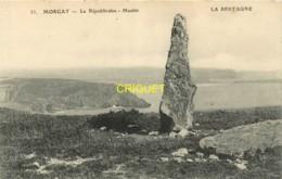 29 Morgat, La Républicaine, Menhir, Visuel Pas Courant - Morgat