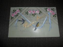 Carte Celluloïd ( 100 )  En Celluloïde  Cellulo - Cartes Postales