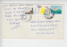 PORTOGALLO 1985 - Unificato 1486-1498 - Letteraper La Germania - FDC