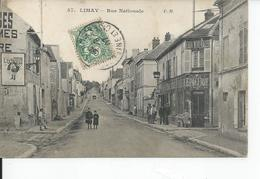 LIMAY   Rue Nationale 1907 - Limay