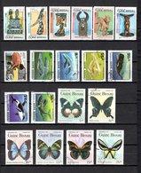 Guinea Bissau  1984  .-  Y&T  Nº  295A/295F-300-307/312-314/319    (  295E   Falta Punta ) - Guinea-Bissau