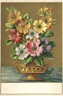 C 6203 - Publicité   Le Bon Génie     Fleurs   Confections    Horlogerie   Chaussures   Ameublement - Other