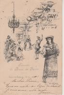 LUXEMBOURG - SOUVENIR DU BAZAR DE LA CHARITE LE 6.01.1900 - BELLE CARTE - Luxemburg - Town