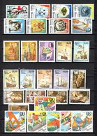 Guinea Bissau  1985  .-  Y&T  Nº  350-354/359-361/362-364/365-368/373-377/382-384/389 - Guinea-Bissau