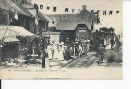 LION SUR MER   La Gare Du Tramway - Frankrijk