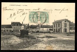 51 - CORMICY (Marne) - La Gare - Other Municipalities