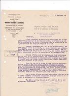 Courrier 1941 Direction Des Ind. Mécaniques Et Electriques, Toulouse, Montauban, Rue Porte-du-Moustier - Electricity & Gas