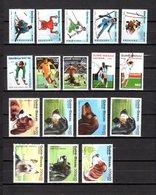 Guinea Bissau  1988  .-  Y&T  Nº  418/423-432-435/437-447/453   ( 419  Falta Punta ) - Guinea-Bissau