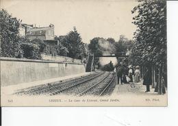 LISIEUX  La Gare Grand Jardin - Lisieux