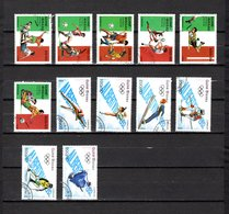 Guinea Bissau  1989  .-  Y&T  Nº  482/487-489/494 - Guinea-Bissau