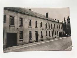 Carte Postale Ancienne (1956) HABAY-LA-NEUVE  Hôtel MAUBACQ - Habay