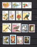 Guinea Bissau  1989  .-  Y&T  Nº  500/505-507-509/510-514/519 - Guinea-Bissau