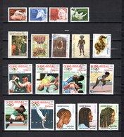 Guinea Bissau  1989-93  .-  Y&T  Nº  556/558-562-567-578-598-603-632   +  9 Sellos - Guinea-Bissau