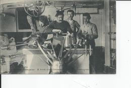 MARINE FRANCAISE  A Bord D'un Cuirasse - Warships