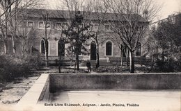 [84] Vaucluse > Avignon Ecole Libre Saint Joseph Jardin Piscine Theatre - Avignon