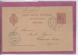 UNION POSTAL UNIVERSAL  ESPANA ( Madrid ) - Enteros Postales