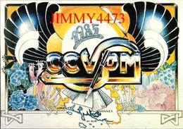 CPM - CCVPM 1985 - Hortensia - Lorient / Vannes - Dessin D' AR ROUE - Edit. Club Cartophile Du Morbihan - Bourses & Salons De Collections