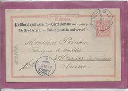 CARTE POSTALE  Cachet De Muhlheim  Carte Double - Postkarten - Gebraucht