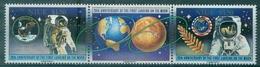 NIUE N° 544 / 546 Se Tenant N Xx 20em Anniverssaire 1er Pas Sur La Lune TB Cote 22.50 € - Niue