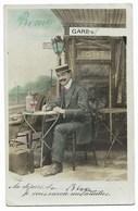 """33-BLAYE-Carte Fantaisie """"Au Départ De Blaye Je Vous Envoie Mes Amitiés""""... 1911 - Blaye"""