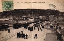 ESPAGNE - SAN SEBASTIAN - PUENTE DE SANTA CATALINA - Zonder Classificatie