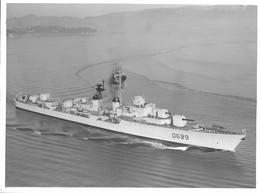 Militaria - Bateaux - Photo - Escorteur-d'escadre D'ESTREES - Ets Photographiques MARIUS - TOULON - 23 X 17 Cm - - Boats