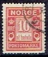 NORWAY # FROM 1889-93  MICHEL P3 IAa - Port Dû (Taxe)