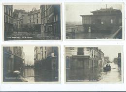 Paris Inondé Gare Du Pont De L'Alma Etc. ( Lot De 14 Cartes ) ( Frais De Port 3,00 EUR ) - Inondations De 1910