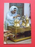 Kuwait - National Costume, Preparing Arabian Coffee --- Koweït --- 303 - Koweït