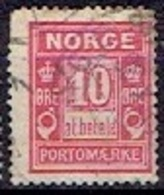 NORWAY # FROM 1889-99  MICHEL P3 IAb - Port Dû (Taxe)