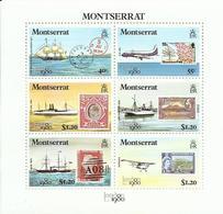 MONTSERRAT  YVERT  418/23    MNH  ** - Montserrat