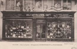 - 58 - CPA - NEVERS - Rue Lafayette - Droguerie DEMONGEOT & FOURNIER - 405 - Nevers