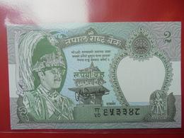 NEPAL 2 RUPEES 1981 PEU CIRCULER/NEUF - Nepal