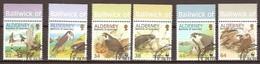 Alderney Aurigny 2000 Yvertnr. 146-51  (°) Used Cote 12,00 Euro Oiseaux Birds Vogels - Alderney
