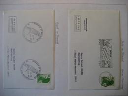 Frankreich 1984/85- 2 Belege Freimarke Liberte Mi. 2509 - Briefe U. Dokumente