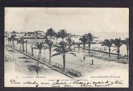 CPA ESPAGNE - TORREVIEJA ( ALICANTE ) - Paseo Del Duque De La Victoria - TB PLAN Promenade - Jolie Oblitération Verso - Autres