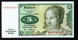 Germany 5 Mark 1980 UNC - [ 7] 1949-… : RFA - Rep. Fed. Tedesca