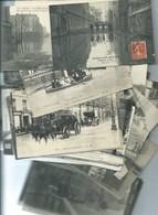 Paris Inondé Crue De La Seine Lot De 77 Cartes ( Plus 2 En Moins Bon état ) Frais De Port  9,00 EUR - Inondations De 1910