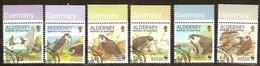 Alderney Aurigny 2000 Yvertnr. 146-51  (°) Oblitéré Used Cote 12,00 Euro Oiseaux Birds Vogels - Aigles & Rapaces Diurnes