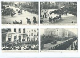 (Lot De 8 Cartes ) BRUXELLES - Visite Du Président Fallières Président à S.M. Albert Roi Des Belges - Brüssel (Stadt)