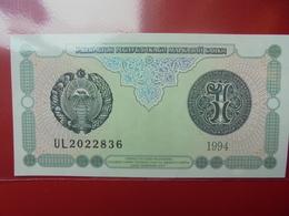 OUZBEKISTAN 1 SUM 1994 PEU CIRCULER/NEUF - Oezbekistan