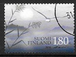 Finlande 2016 N° 2406 Oblitéré, Timbre De Deuil - Oblitérés