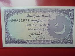 PAKISTAN 2 RUPEES PEU CIRCULER/NEUF - Pakistan
