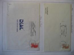 Frankreich 1985- Belege Mit Freimarken - Briefe U. Dokumente