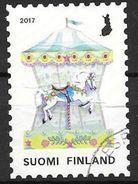 Finlande 2017 N°2461 Oblitéré Manège Carrousel - Oblitérés