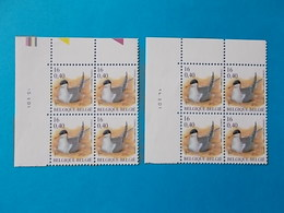A - 10 '%  BLOCS DE  4 N° 3011 AVEC DATE - 1985-.. Oiseaux (Buzin)