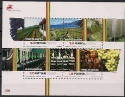 2006 Madeira Bl. 35 **MNH  Vinho Da Madeira - Madeira