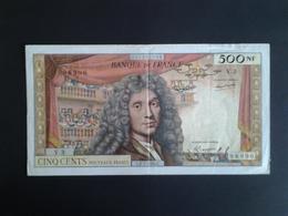 RARE 500F MOLIERE DU 2-7-1959 ALPHABET  V.3 - 1959-1966 ''Nouveaux Francs''
